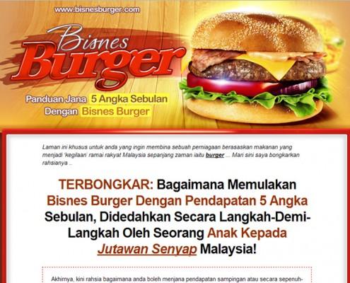 minisite burger