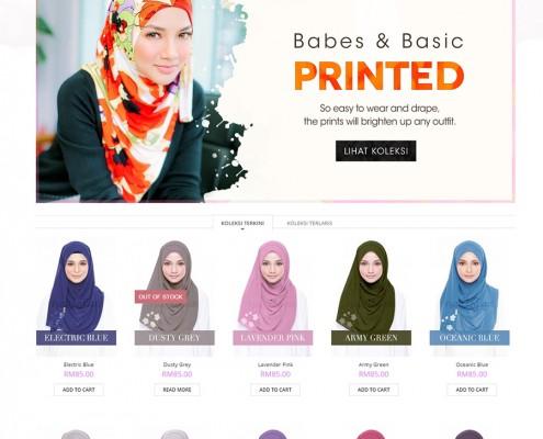 Web Design Tudung Online
