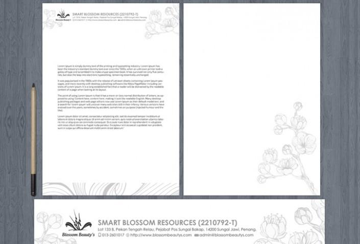 Letterhead Smart Blossom